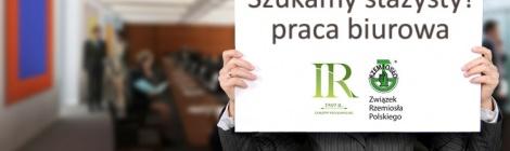 Izba Rzemiosła i Przedsiębiorców w Gorzowie Wlkp. zatrudni stażystę